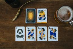 kartenspiel benthaus bier blatt