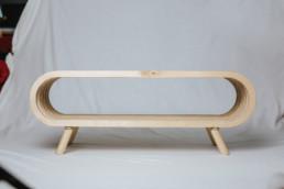 Design Schuhregal aus Holz