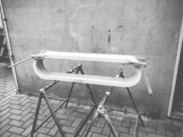 Herstellung eines Schuhregals