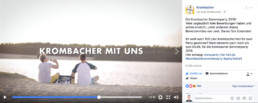 facebook video krombacher party like hell